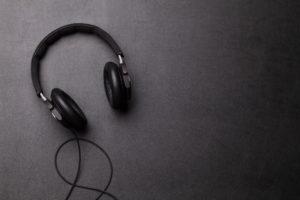 pair of over-ear headphones